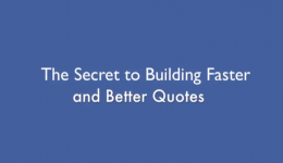 The Secret to Building Faster and Better Quotes – FileMakerProGurus Hot Tip #3