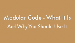 Modular Code
